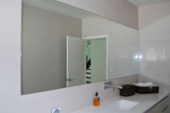 Bathroom Glass counter top full Length glass mirror polished safety backed glass mirror