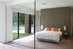 Full Length Glass Mirror Sliding wardrobe door replacement glass Mirror Ireland Buy online supply and Install in ireland
