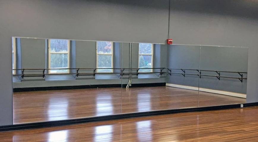 Dance studio Glass Mirrors Belfast Northern Ireland